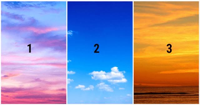 Выберите небо, которое нравится вам больше всего